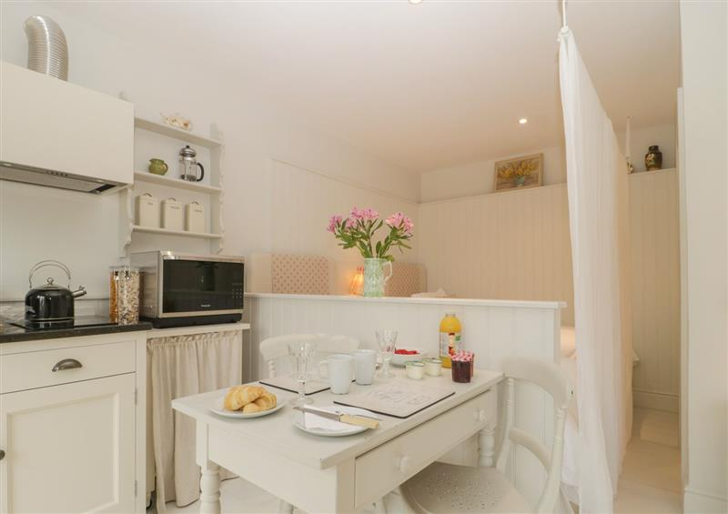 The kitchen at Baytree Studio Apartment, Wells
