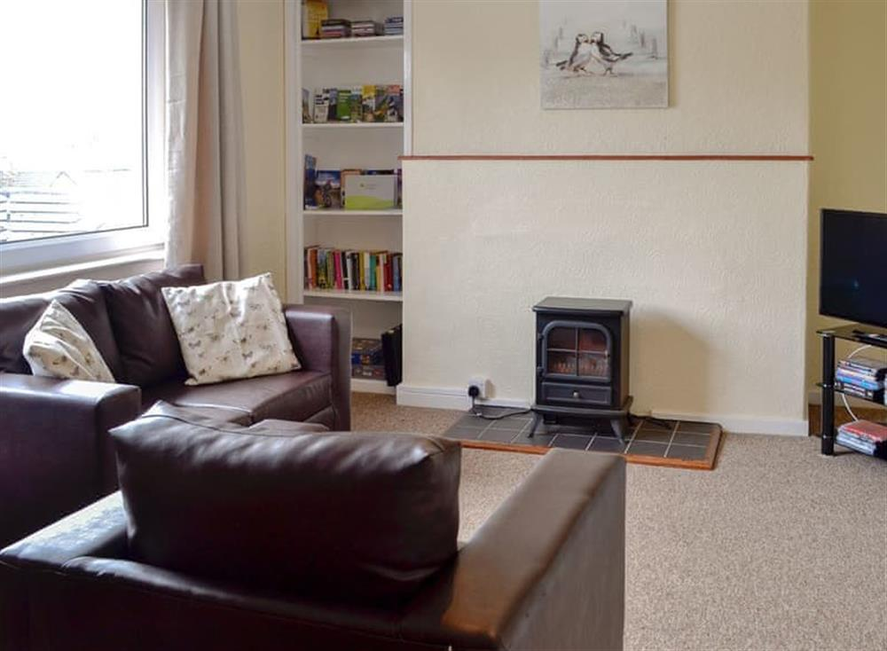 Living room at Bayview in Stranraer, Dumfries & Galloway, Wigtownshire