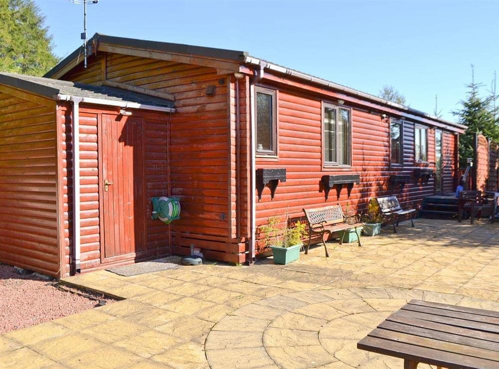 Exterior at Bea Lodge in Glendevon, near Gleneagles, Clackmannanshire