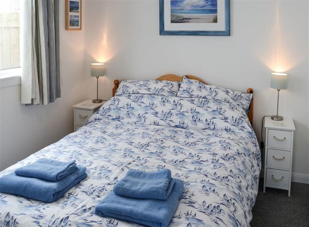 Double bedroom at Beach Bothy in Nairn, Morayshire