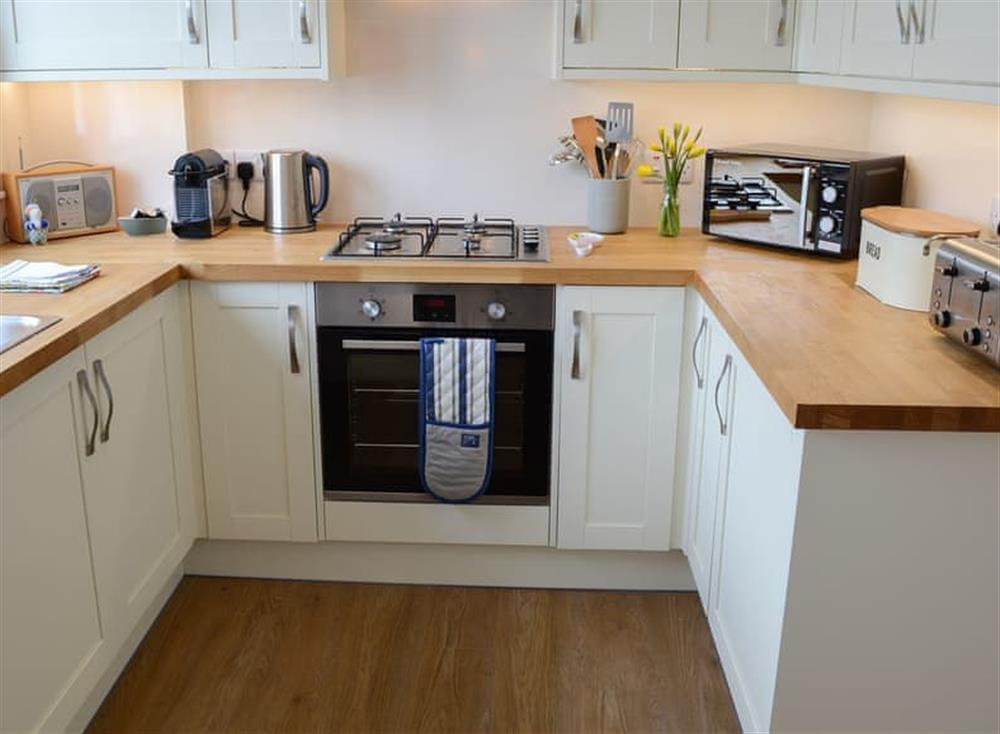 Kitchen at Beach Bothy in Nairn, Morayshire