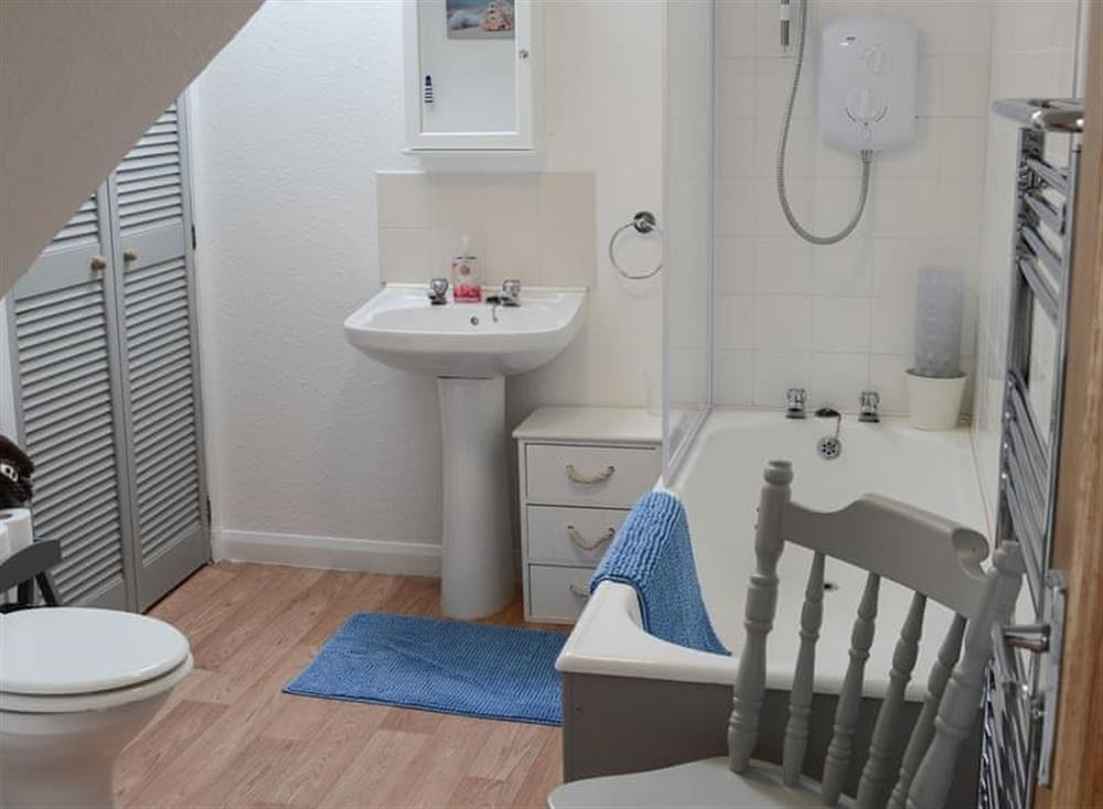 Shower room at Beach Bothy in Nairn, Morayshire
