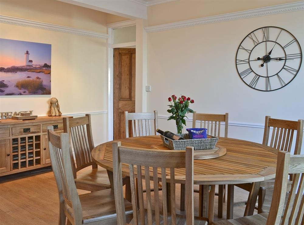 Dining Area at Beach House in Sea Palling, Norfolk