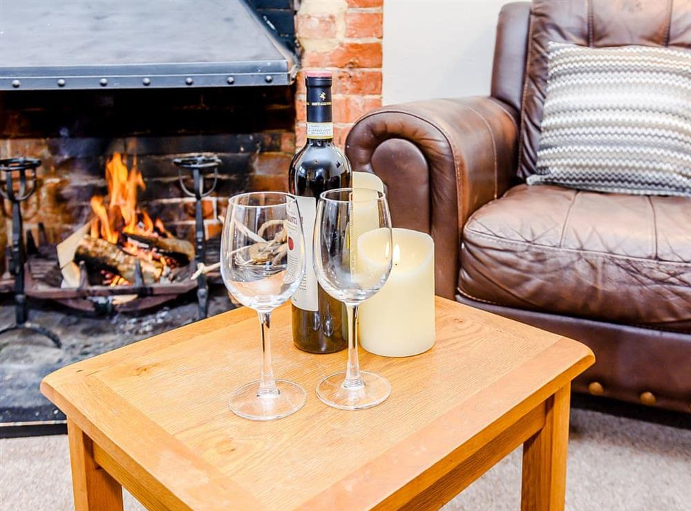 Living room at Beach House in Sea Palling, Norfolk