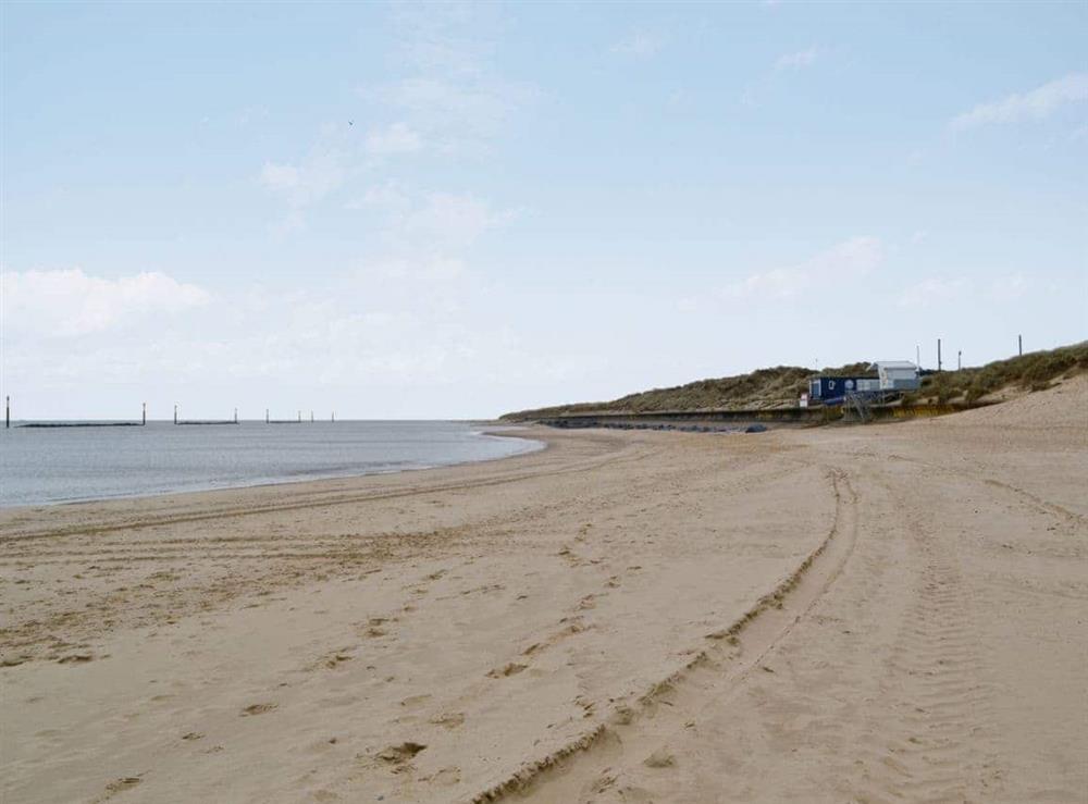 Sea Palling Beach at Beach House in Sea Palling, Norfolk