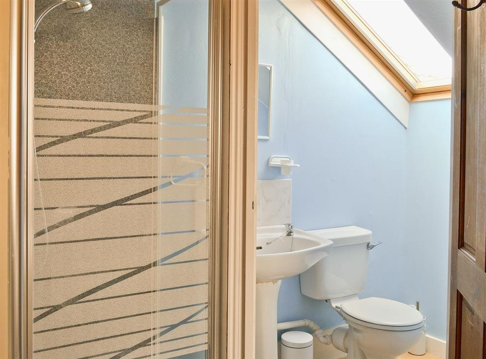 Shower room at Beach House in Sea Palling, Norfolk