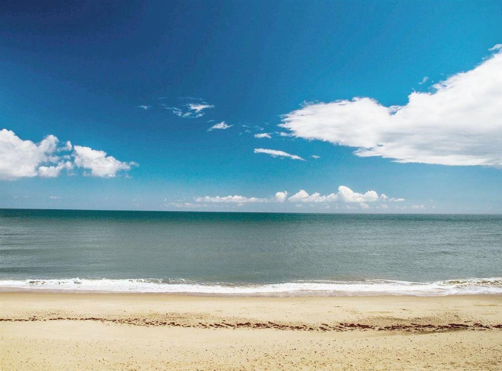 Beach at Beach View in Walcott, near Happisburgh, Norfolk