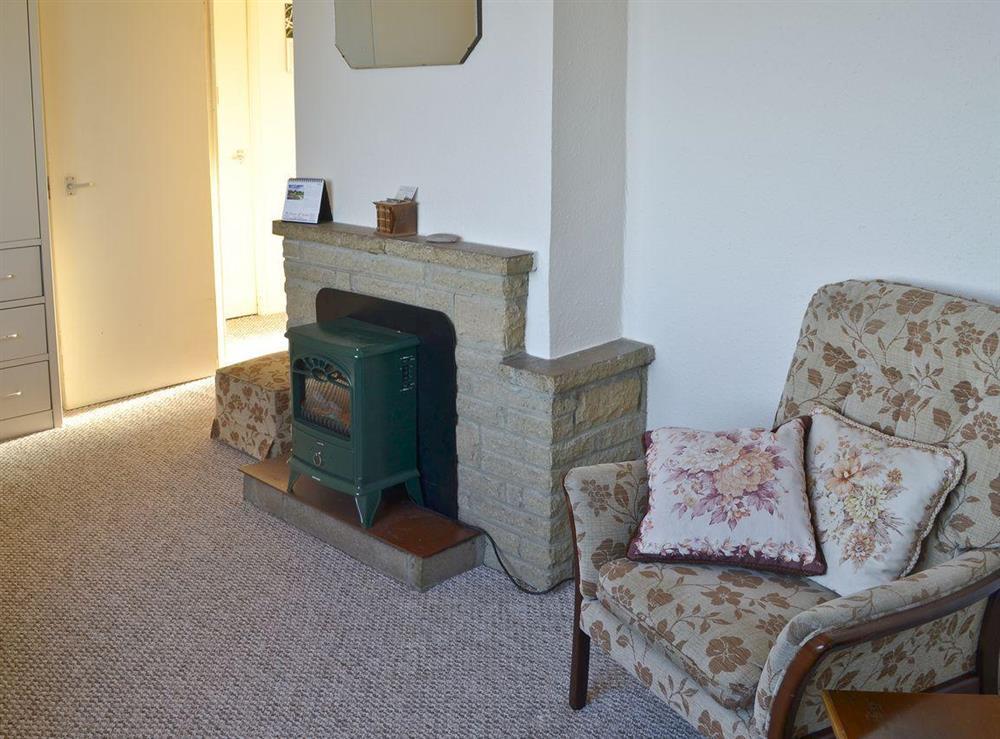 Living room at Beach View in Walcott, near Happisburgh, Norfolk