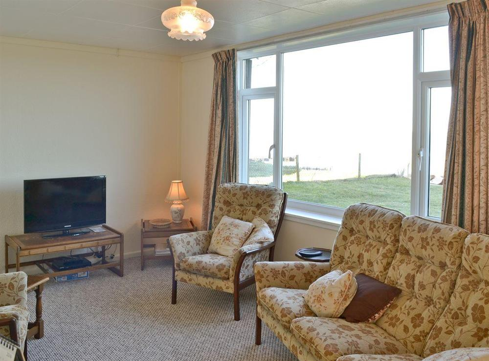 View at Beach View in Walcott, near Happisburgh, Norfolk