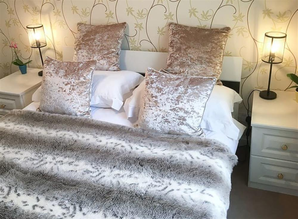 Luxurious bedroom at Beachside in Ayr, Ayrshire