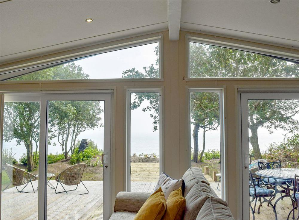 Light and airy open plan living space at Beachwood in Corton, near Lowestoft, Suffolk