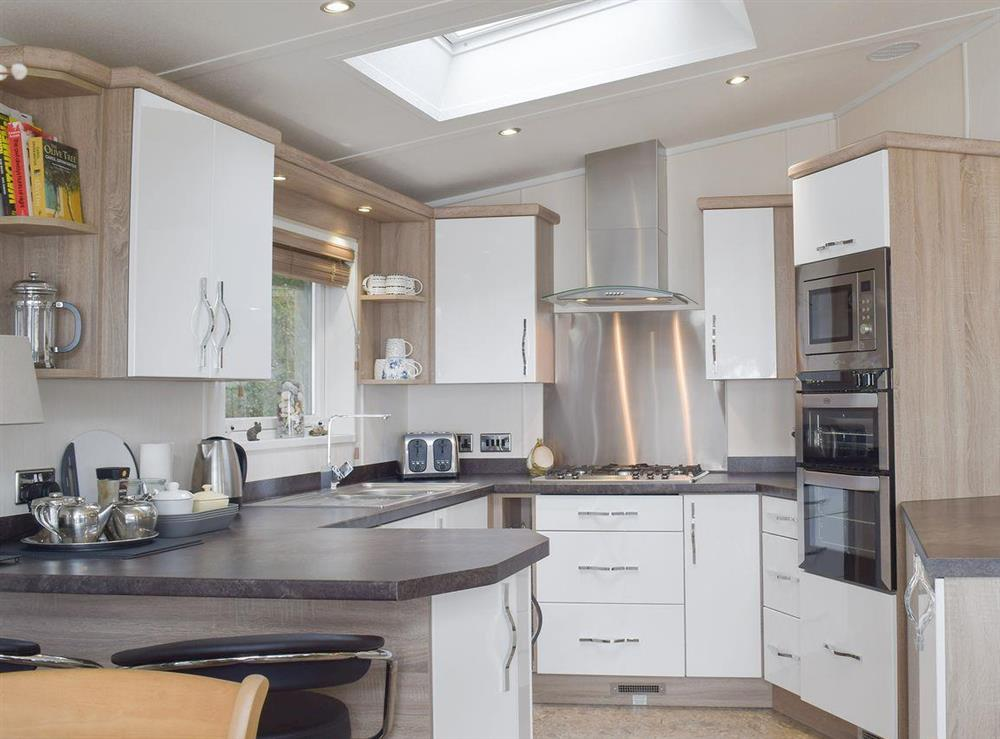 Well equipped kitchen area at Beachwood in Corton, near Lowestoft, Suffolk