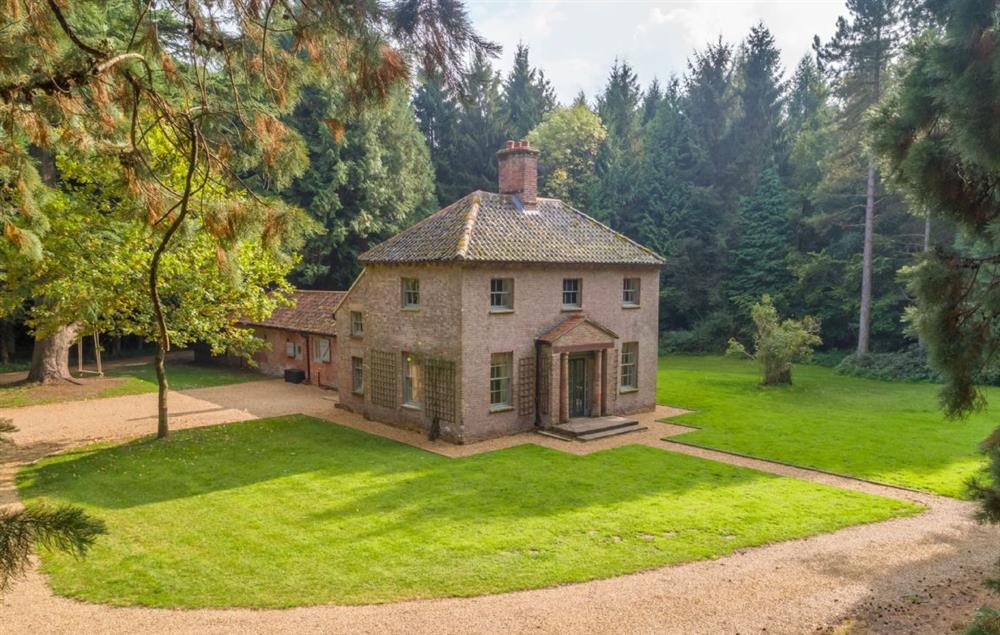 Bear's Cottage is a one of a kind property surrounded by 200 acres of private woodland in North Norfolk