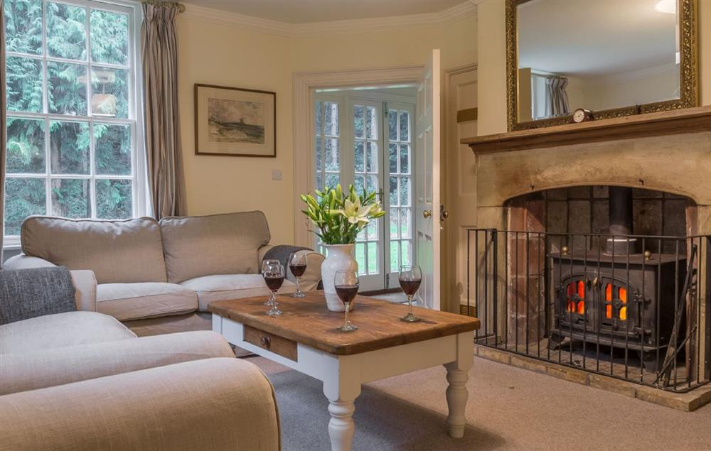 Ground floor: Snug with wood burning stove