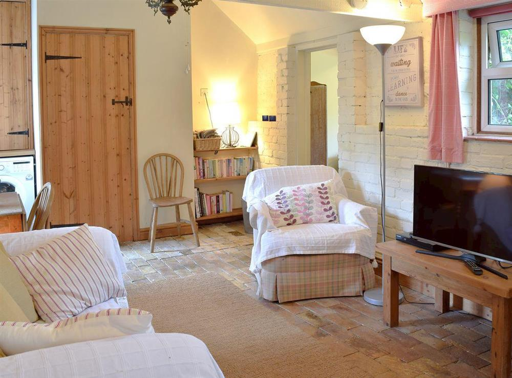 Cosy and bright open plan living/dining room/kitchen at Beck Gate in Denton, near Bungay, Norfolk