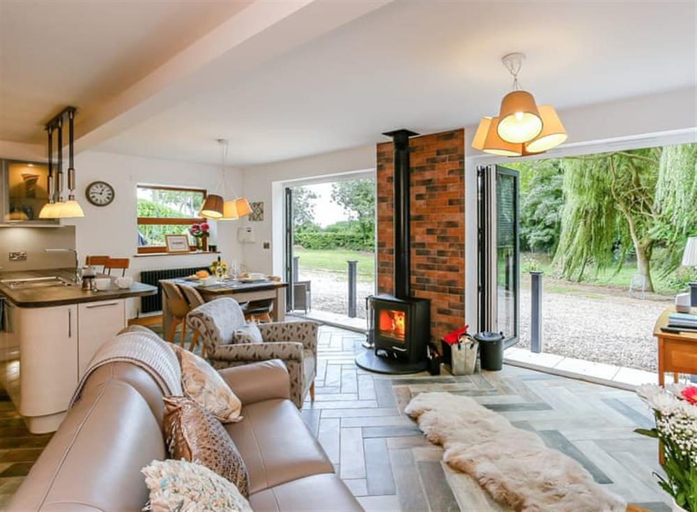 Stunning open plan living space at Beck View in Welton le Marsh, near Burgh le Marsh, Lincolnshire