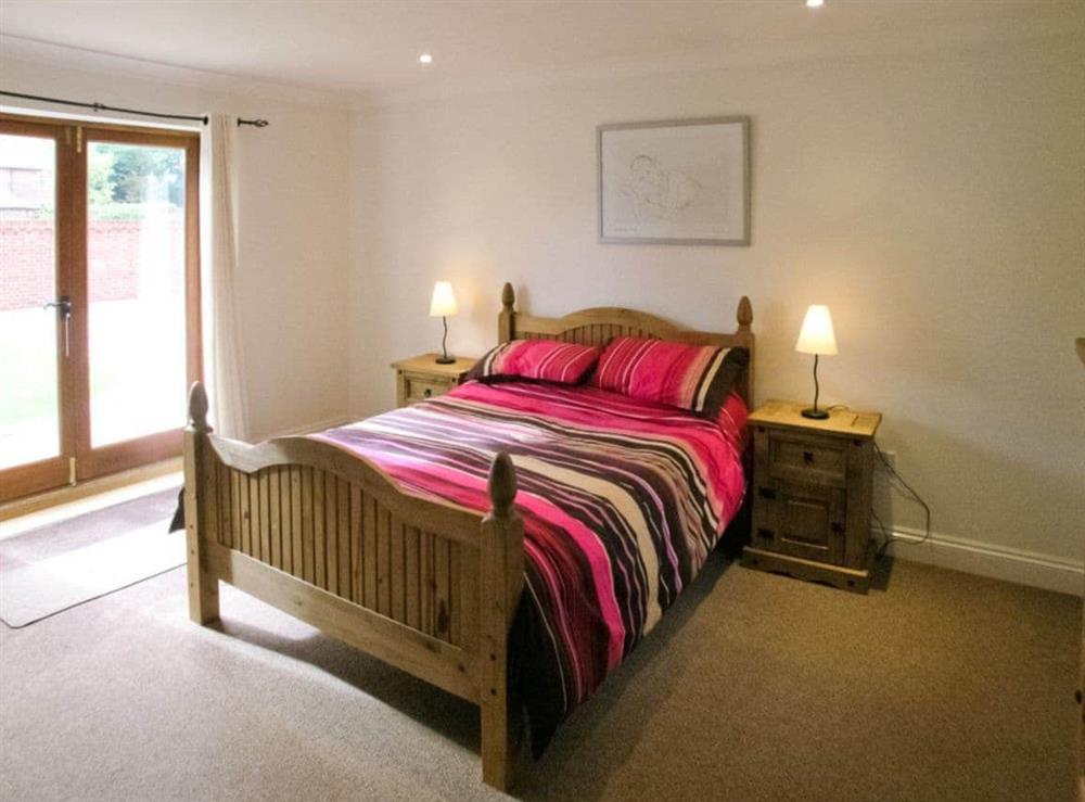Double bedroom at Beech Barn in Neatishead, Norwich, Norfolk., Great Britain