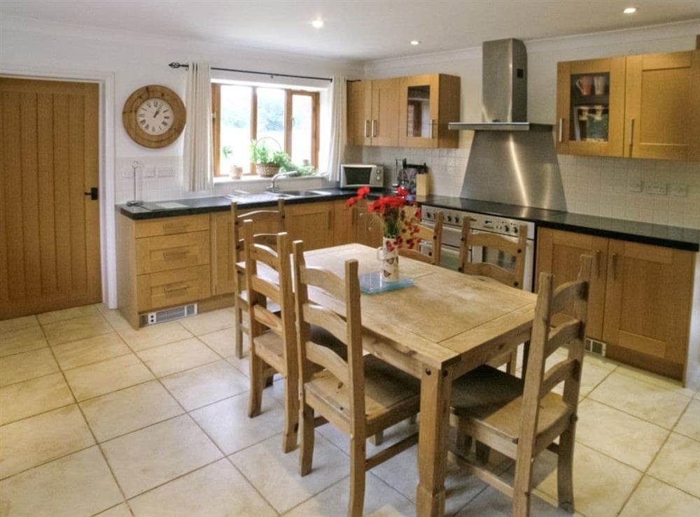 Kitchen/diner at Beech Barn in Neatishead, Norwich, Norfolk., Great Britain