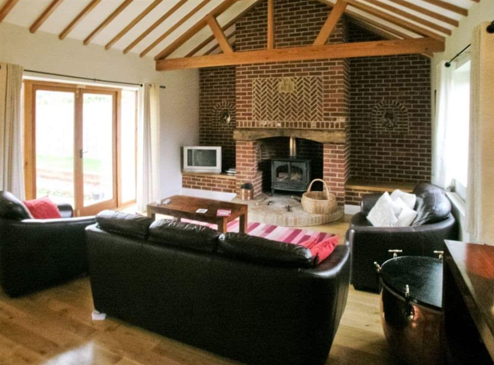 Living room/dining room at Beech Barn in Neatishead, Norwich, Norfolk., Great Britain