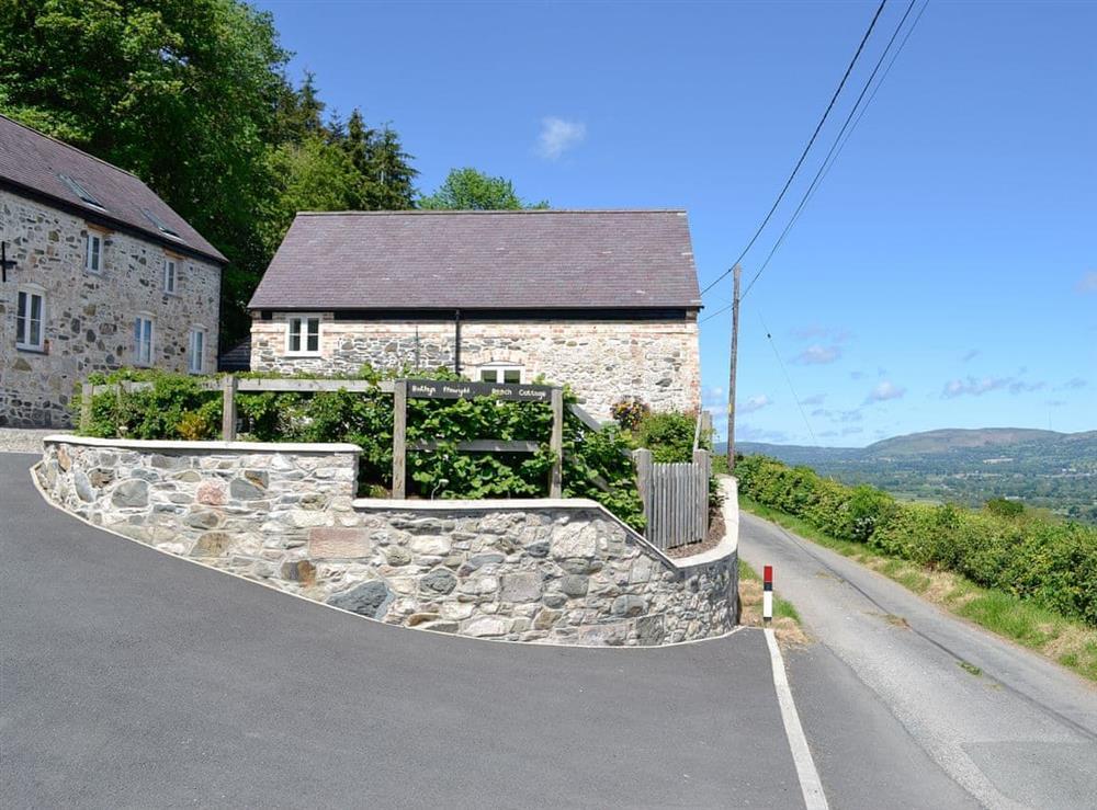 Exterior at Beech Cottage in Llanrhaeadr, near Denbigh, Denbighshire
