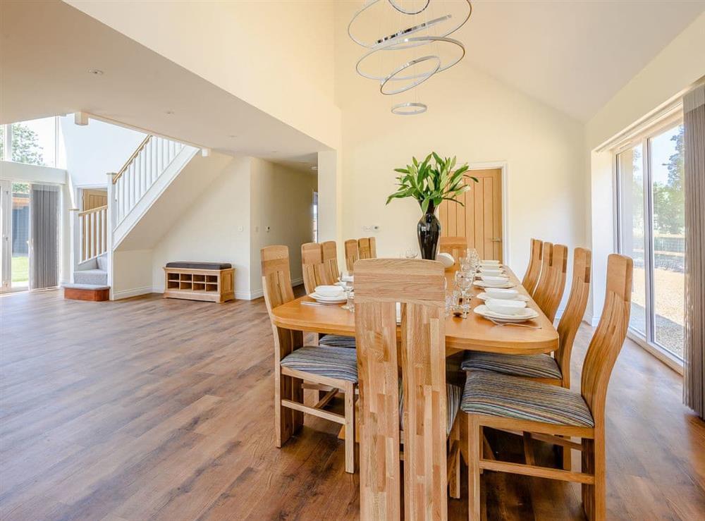 Dining Area at Alderfen Barn,