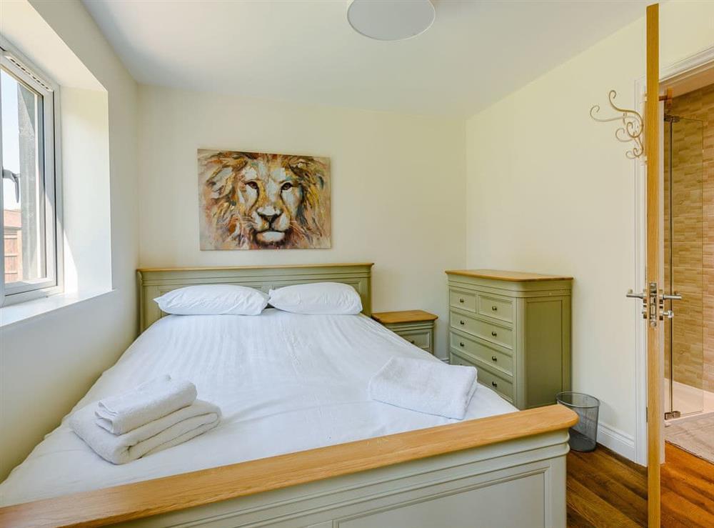 Double bedroom at Alderfen Barn,