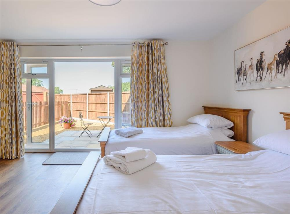 Twin bedroom (photo 3) at Alderfen Barn,