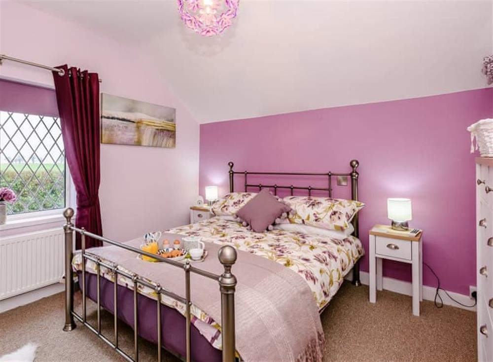 Double bedroom at Beech Tree Cottage in Horning, near Wroxham, Norfolk