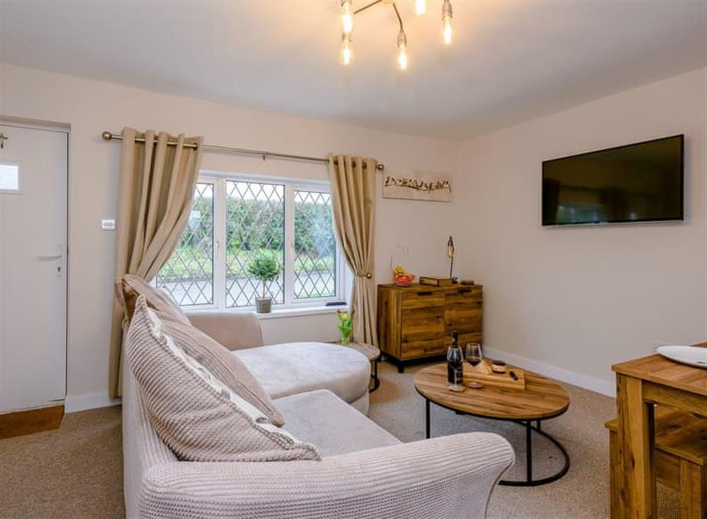 Lounge area at Beech Tree Cottage in Horning, near Wroxham, Norfolk