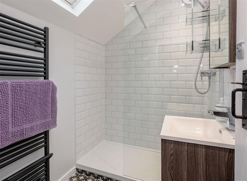 Shower room at Beech Tree Cottage in Horning, near Wroxham, Norfolk