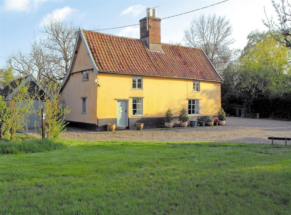 Exterior at Bell Corner Cottage in Cratfield, Halesworth, Suffolk., Great Britain