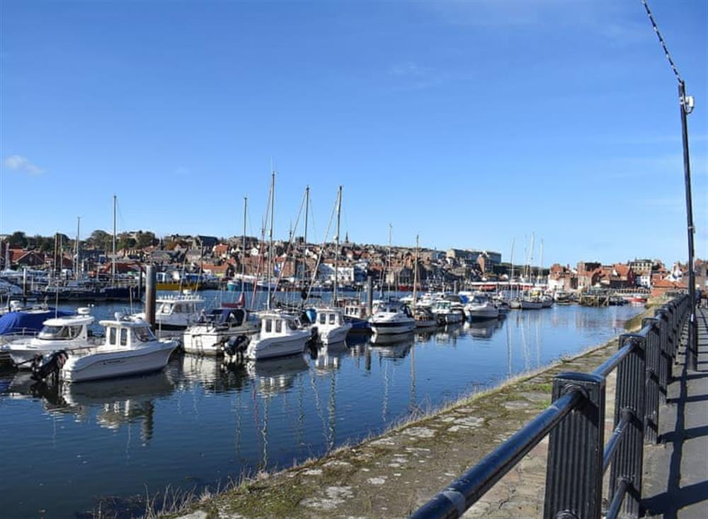 Located right on the quayside in Whitby at Laverick Steps,