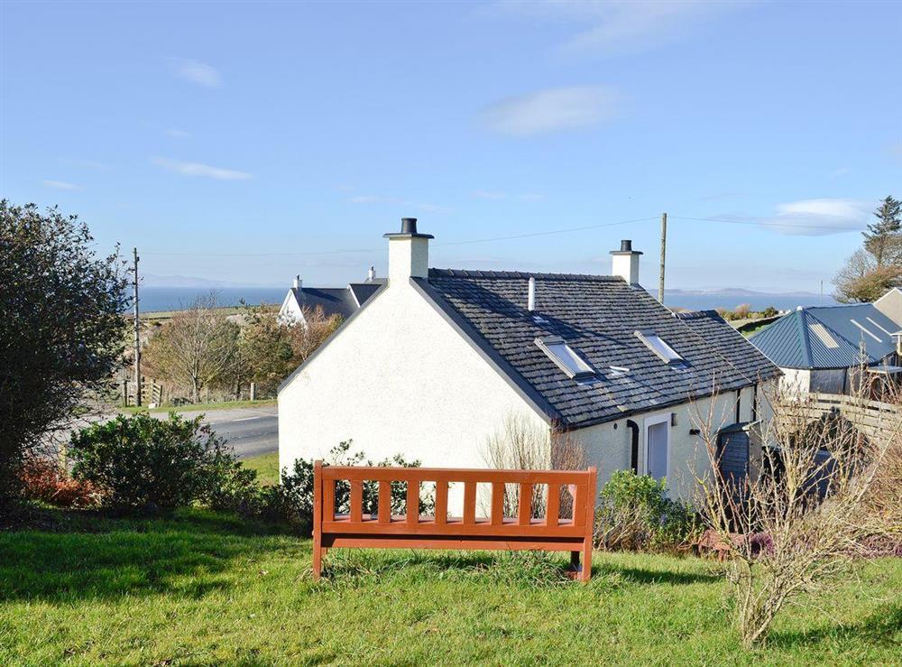 Exterior at Belloch Cottage in Glenbarr, near Campbeltown, Argyll