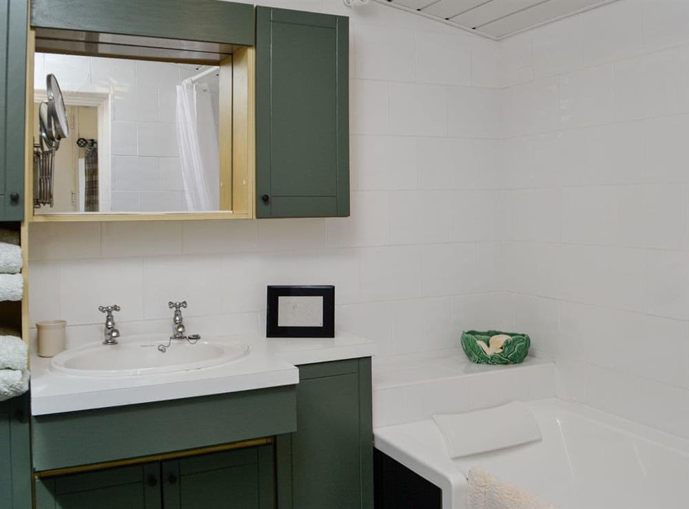 Bathroom at Belstane Cottage in Straiton, near Ayr, Ayrshire