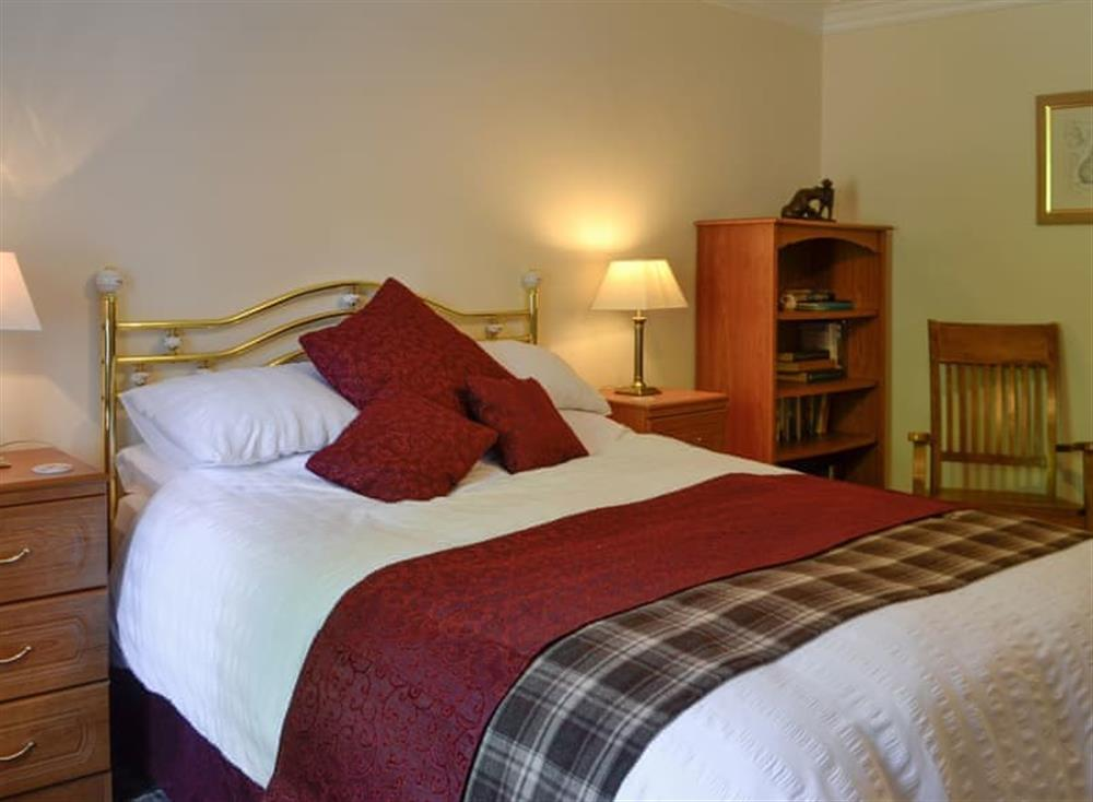 Double bedroom at Belstane Cottage in Straiton, near Ayr, Ayrshire