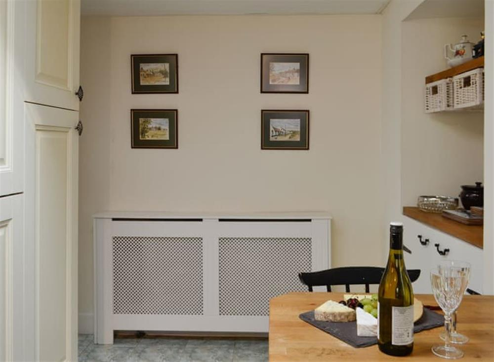 Kitchen with dining area (photo 3) at Belstane Cottage in Straiton, near Ayr, Ayrshire