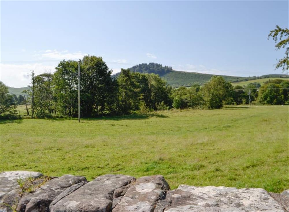 View at Belstane Cottage in Straiton, near Ayr, Ayrshire