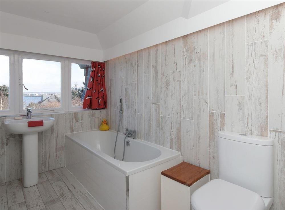 Bathroom at Bentfield in Prestwick, Ayrshire