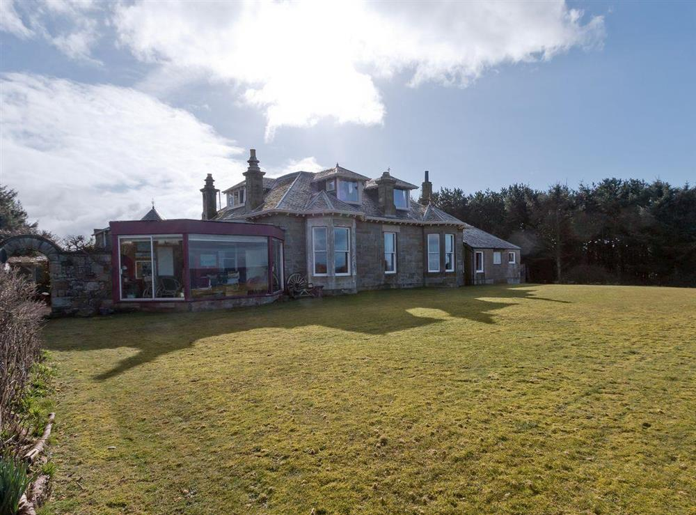 Rear exterior (photo 2) at Bentfield in Prestwick, Ayrshire