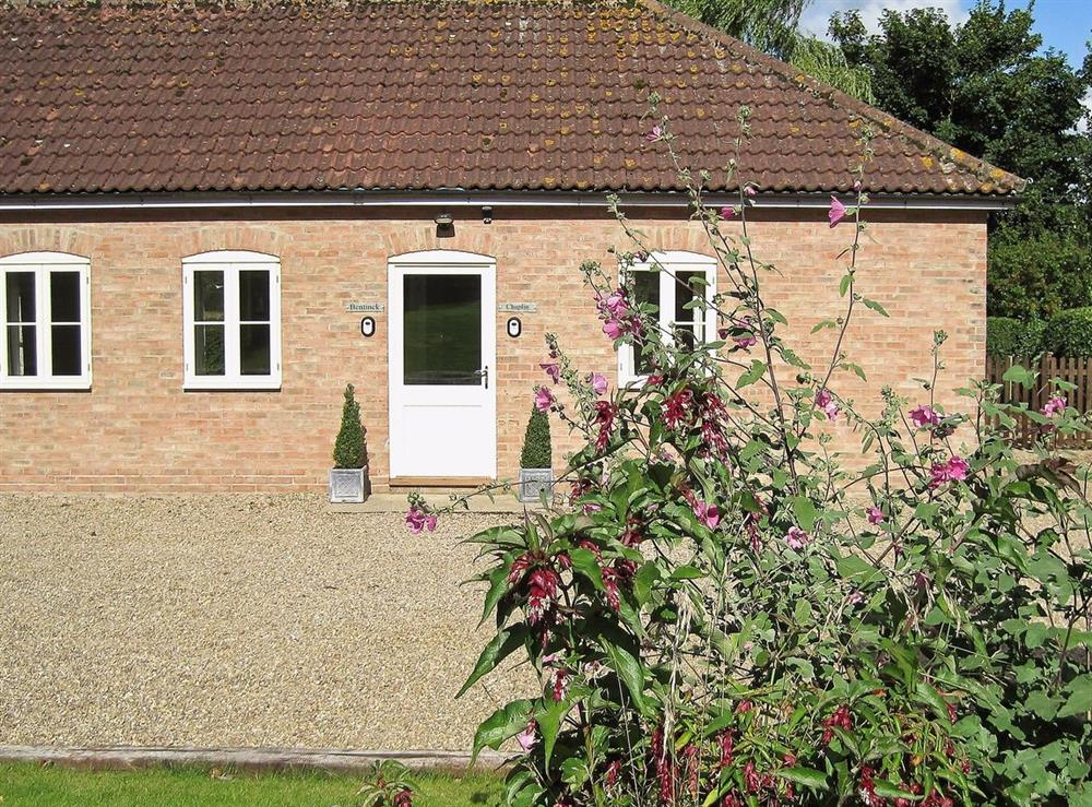 Exterior at Bentinck in Little Tathwell, near Louth, Lincolnshire