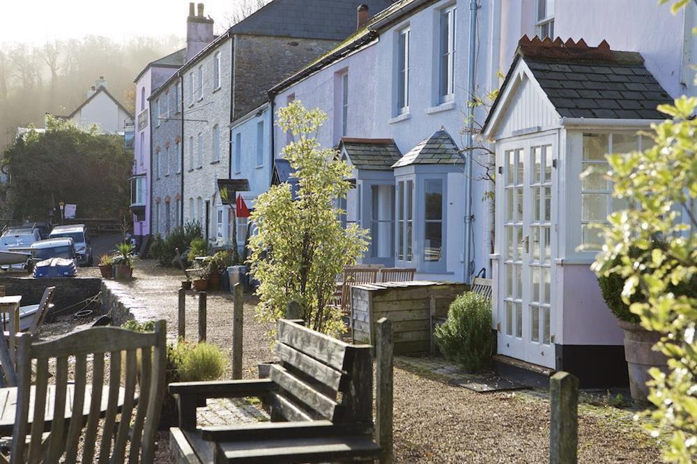 The cottage is situated on 'The Quay' in Dittisham at Berry Cottage in , Dittisham