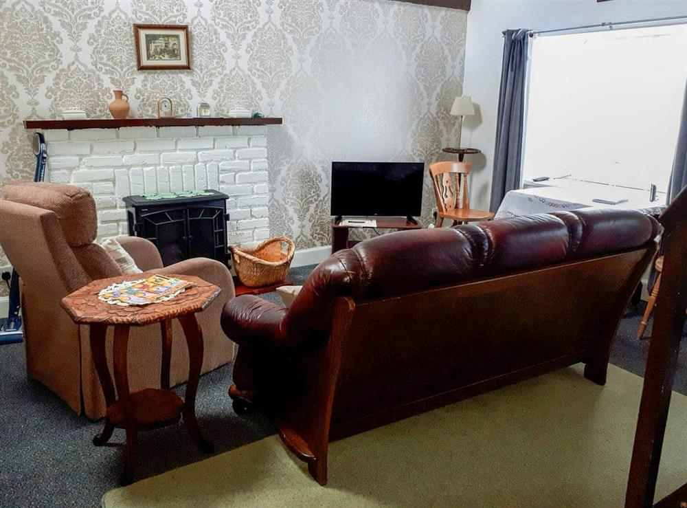 Living room at Berry Cottage in New Luce, Wigtownshire