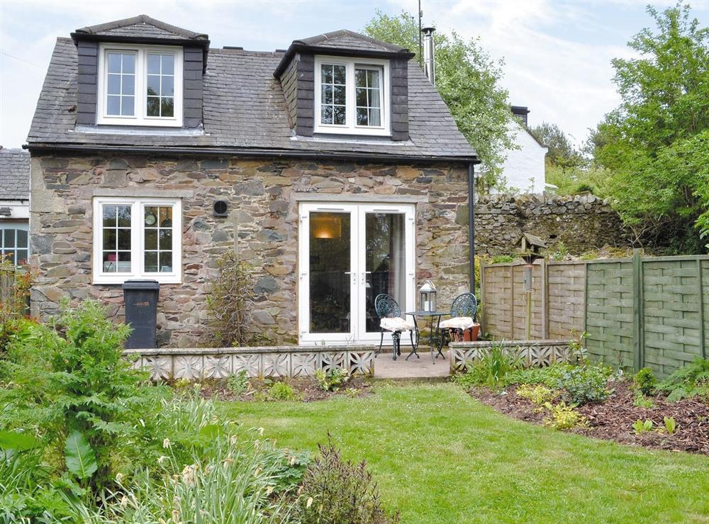 Exterior at Berryhill Cottage in Grantshouse, Berwickshire., Great Britain