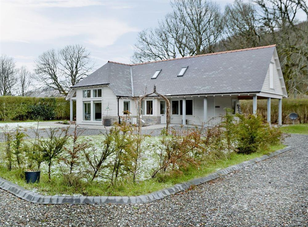 An architect designed cottage at Bettys Corner in St Fillans, near Crieff, Perthshire