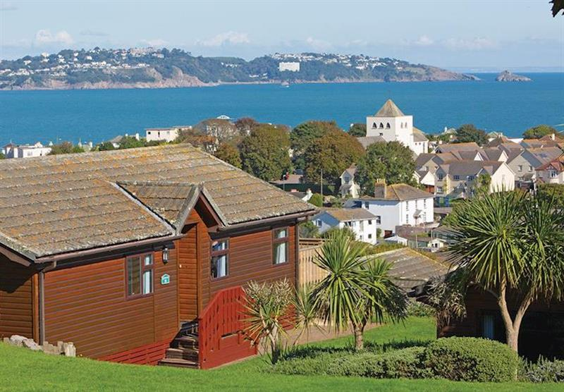 The park setting at Beverley View in Paignton, South Devon