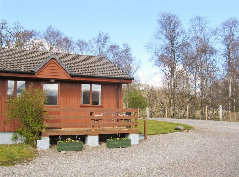 Attractive holiday-lodge at Birch Lodge in Torcastle, near Fort William, Inverness-Shire
