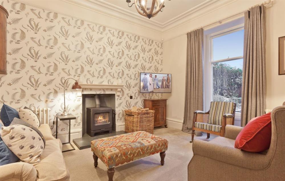 Ground floor: Snug room with wood burning stove