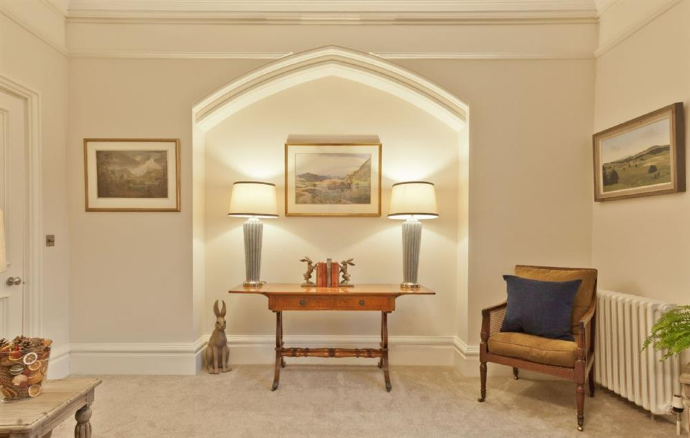Ground floor: The spacious and elegant drawing room