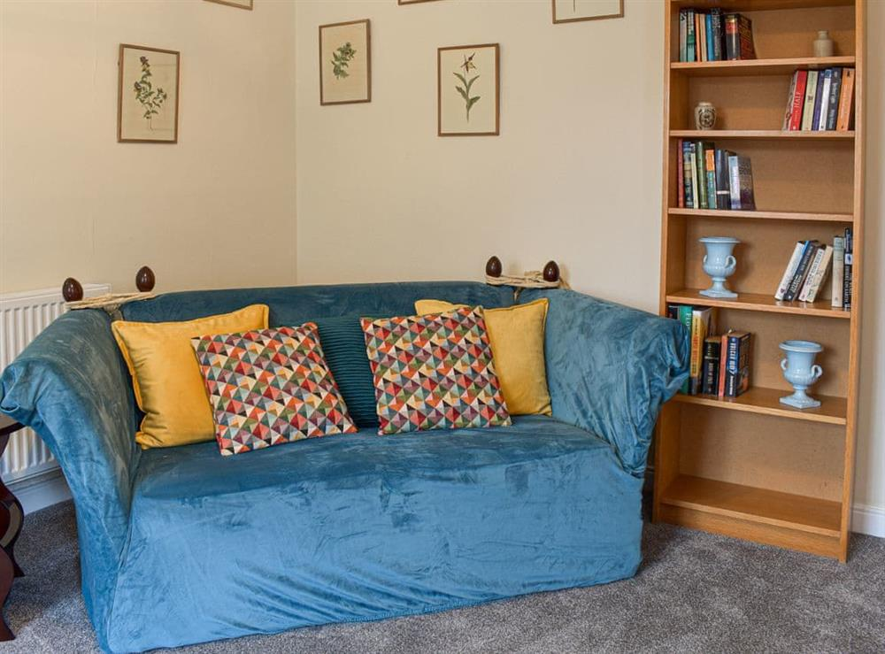 Living room at Black Grouse in Biggar, Lanarkshire