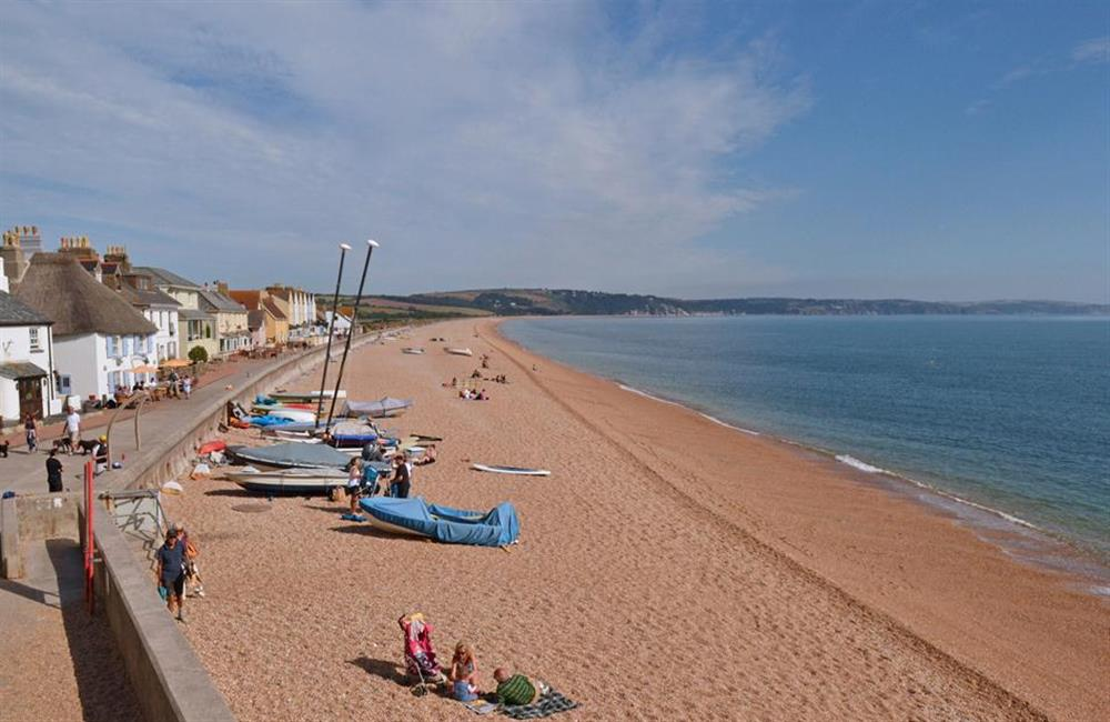 Nearby Torcross and the beach at Blackberry Cottage, Slapton